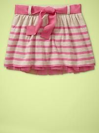 casual skirt with crinoline.