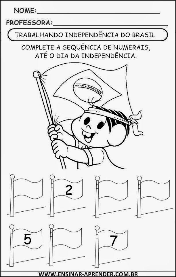 Sugestoes De Atividades Para O Dia Da Independencia 7 De