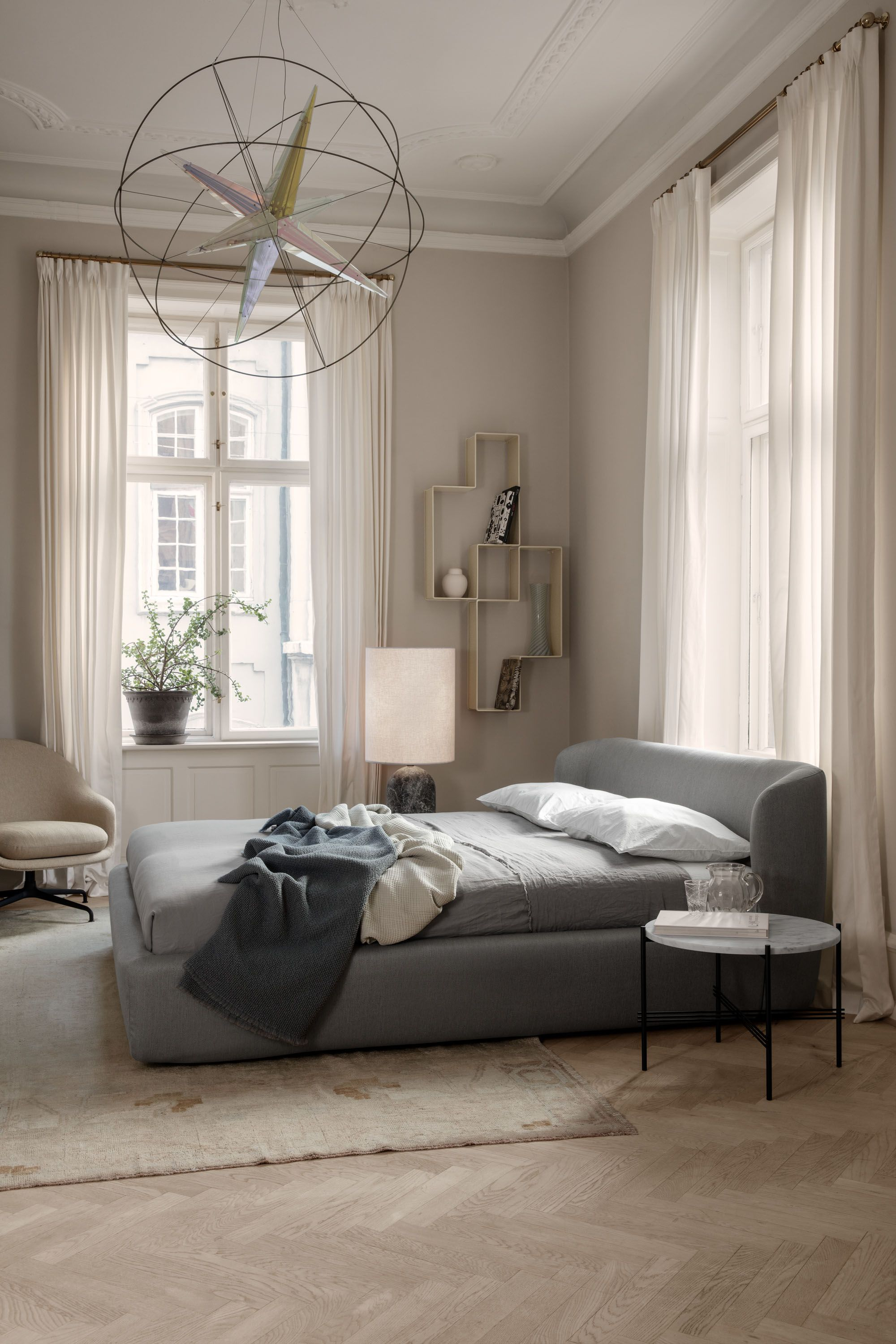 Gubi Stay Bed By Space Copenhagen Bedroom Ambiance