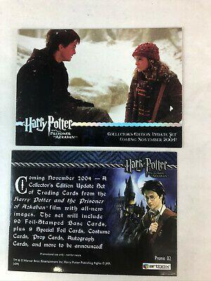 (eBay)(Sponsored) CHEAP PROMO CARD: HARRY POTTER: PRISONER OF AZKABAN UPDATE *Holo* #02 Nov '04