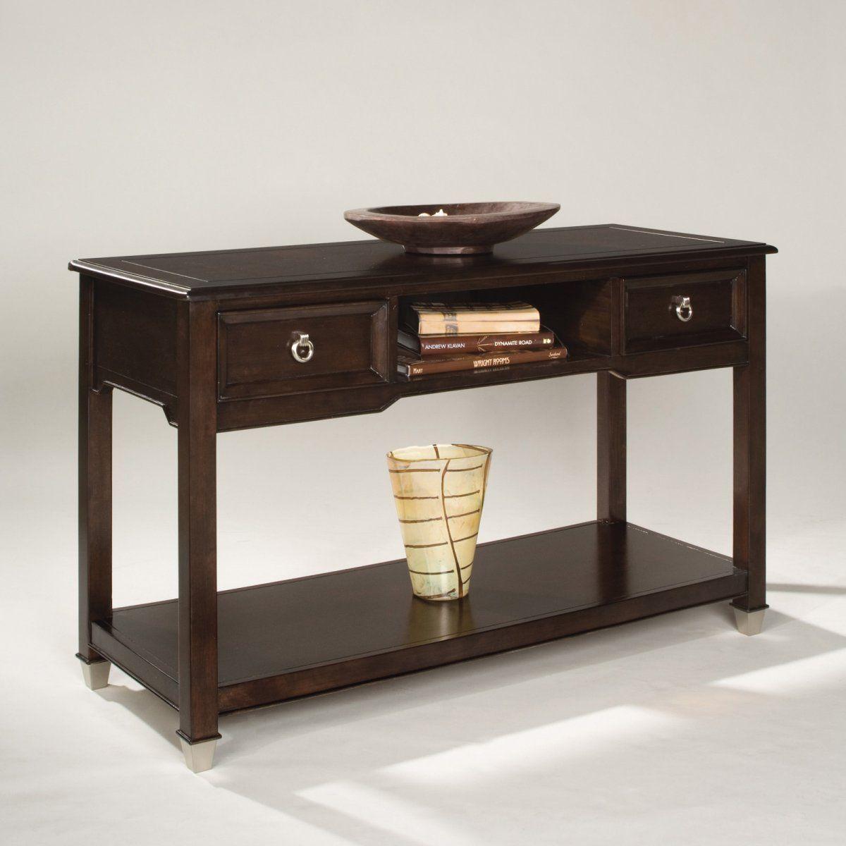 Chesterfield Sofa Magnussen T Darien Wood Rectangular Console Table