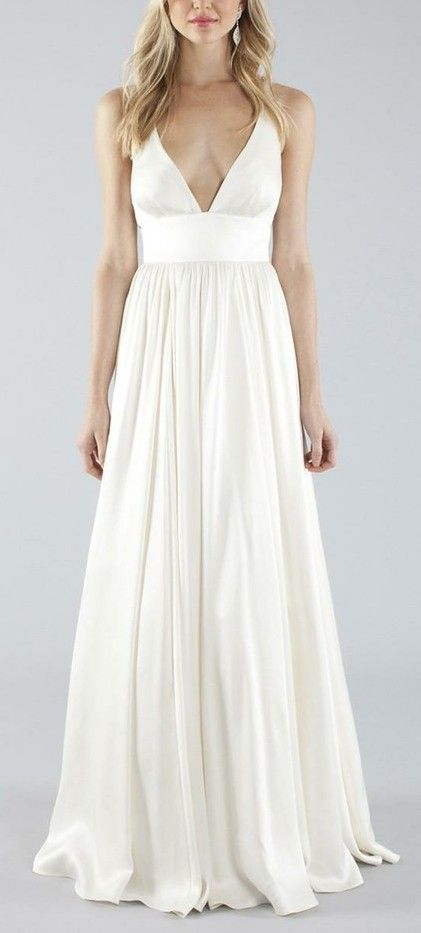 Elizabeth Bridal Gown. I like this but can\'t handle how wide her ...