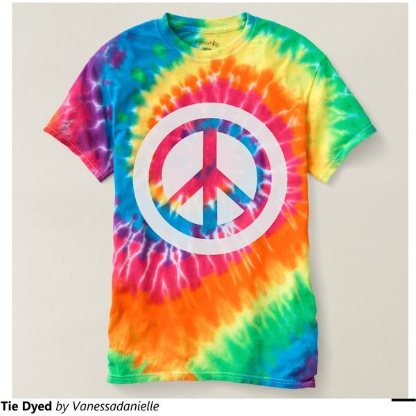 Tie Dyed Tshirt ($28) ❤ liked on Polyvore featuring tops, t-shirts, tie die t shirts, tie dye t shirts, tie dye shirts, tye die shirts and tie die shirts