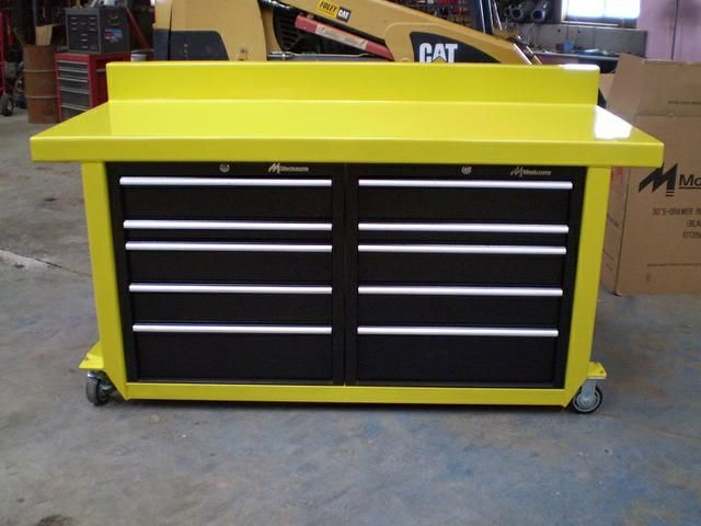 For Sale Custom Built Work Benches Made To Order Heavy Duty Work Benches The Top Is Made From 11 Ga Steel Heavy Duty Work Bench Workbench Metal Work Bench