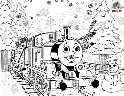 Thomas Printables Train Coloring Pages Christmas Coloring Pages Birthday Coloring Pages
