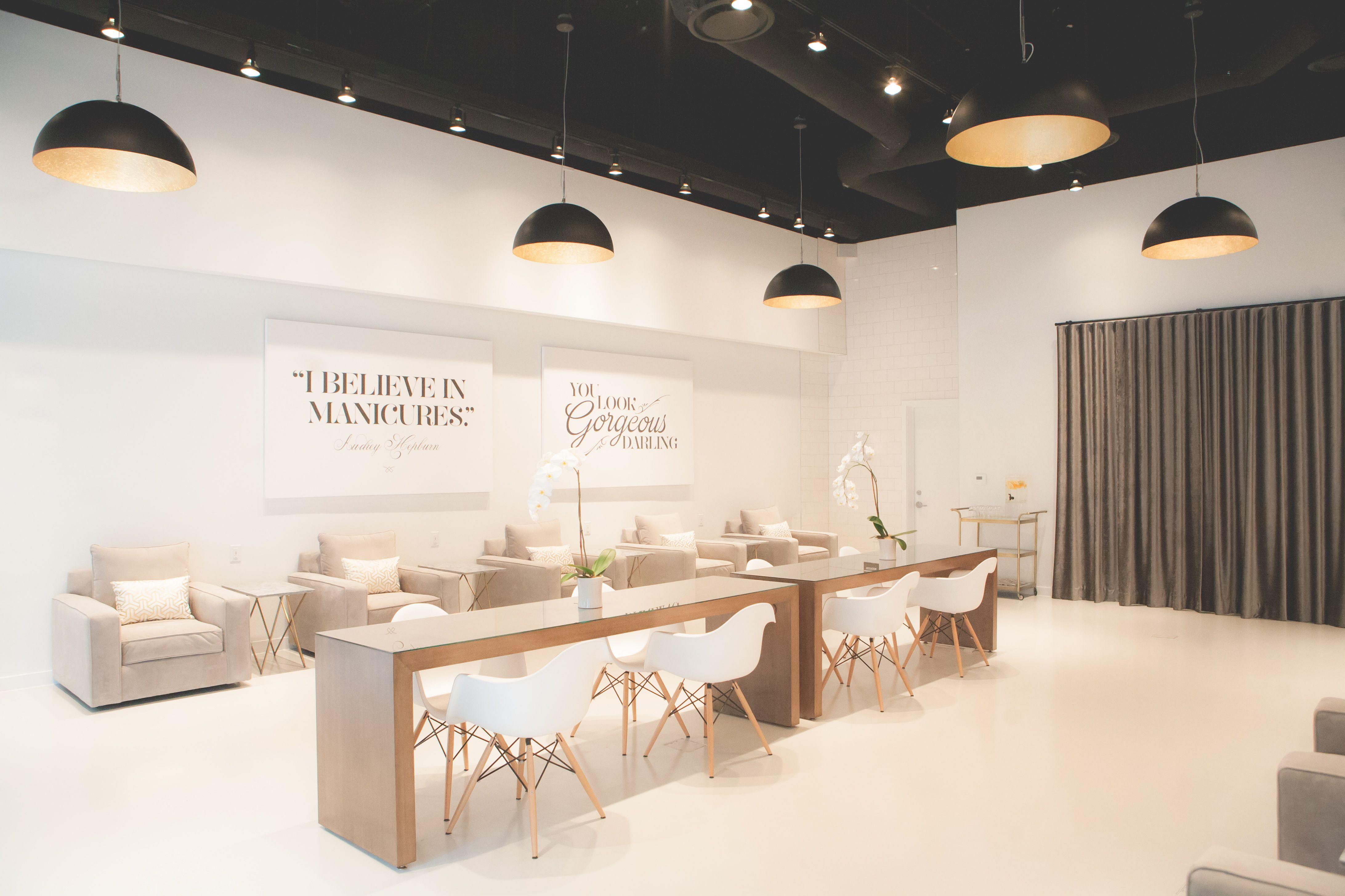 LACQUER modern nail salon in downtown Austin TX ilovelacquer  ilovelacquer in 2019  Modern