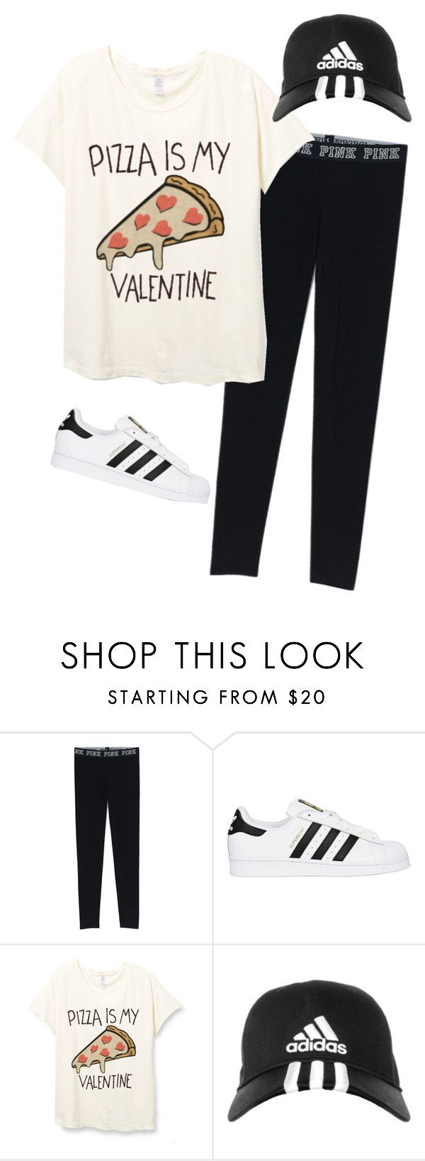 """Valentine's Outfit"" by rock-sand ❤ liked on Polyvore featuring adidas Originals, adidas, pizza, valentine and valentinesday"