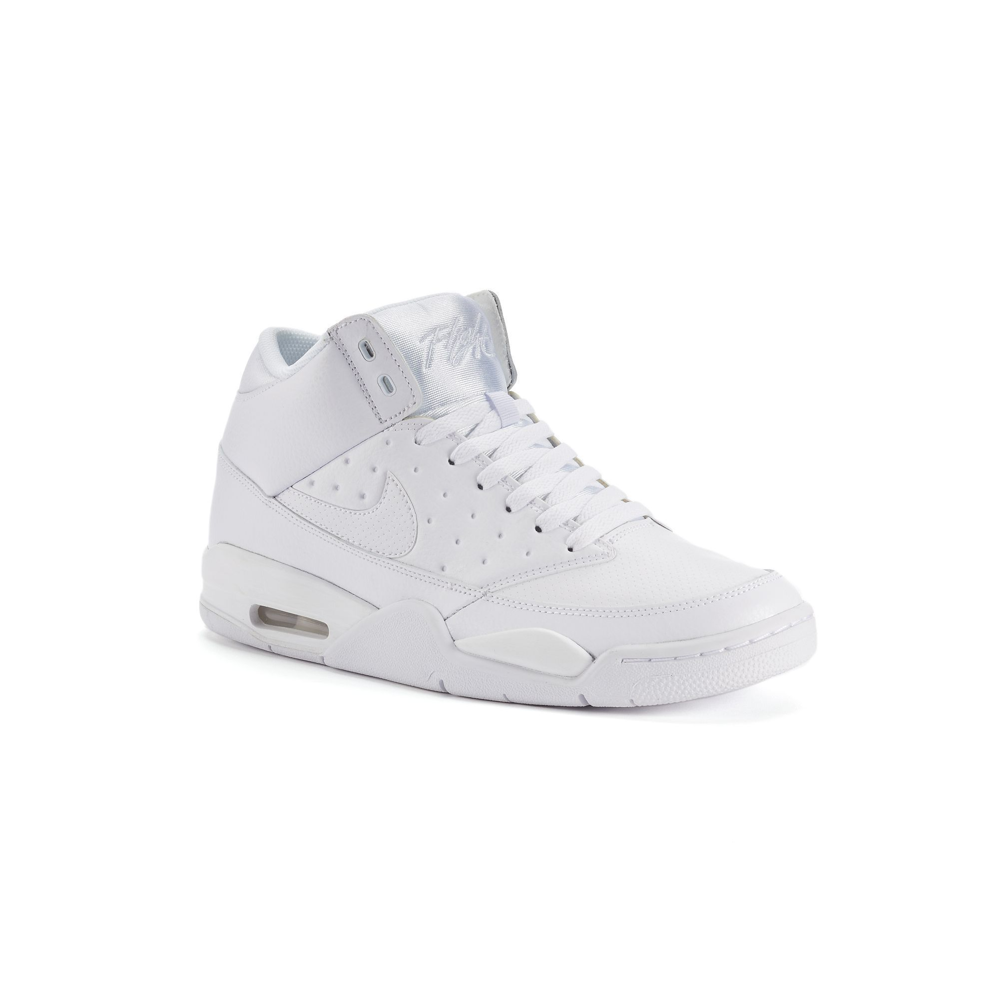 quality design 72ed8 f7091 Nike Air Flight Classic Men s Basketball Shoes, Size  11.5, White Oth
