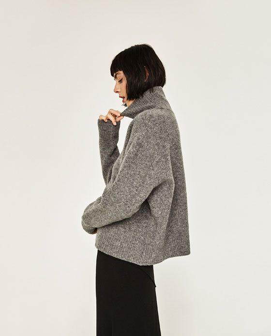 Billede 2 af Sweater med rullekrave fra Zara