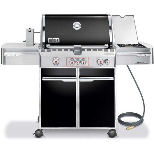 Weber Summit E 470 580 Square Inch Grill Black Natural Gas Unit And Must Have Natural Gas To Use This Gri Gas Grill Natural Gas Grill Outdoor Cooking Grills