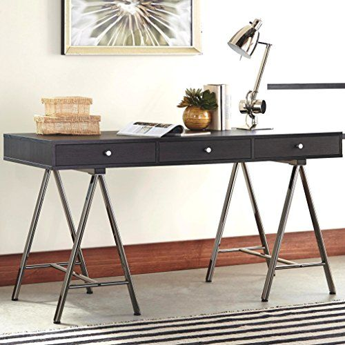 Exceptional A Line Furniture Fountain Sawhorse Style Writing/ Computer Office Desk |  Kitchen Renovation | Pinterest | Office Desks, Small Office And Desks