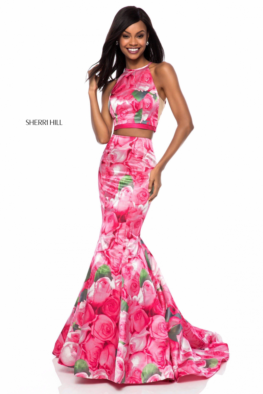 Sherri Hill 52000 Chic Romantic Two-piece Fit Flare Prom Dress 2018 ...