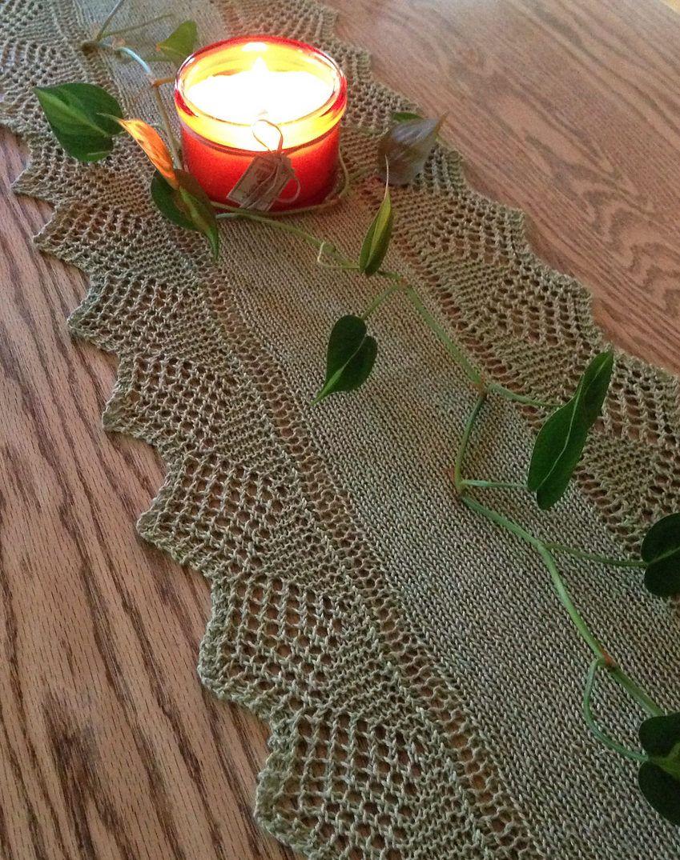 Table Decor Knitting Patterns Knitting Patterns Crochet