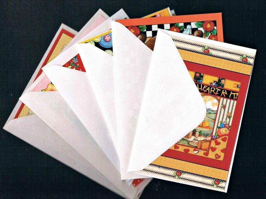 6 Note Cards From Mary Engelbreit Blank Cards The Best Antiques