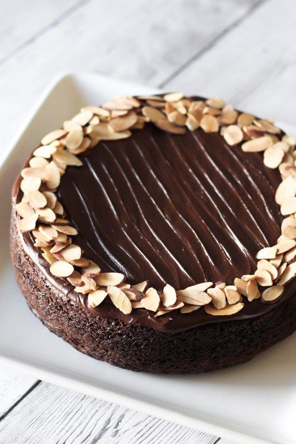 Gluten Free Vegan One Bowl Chocolate Cake