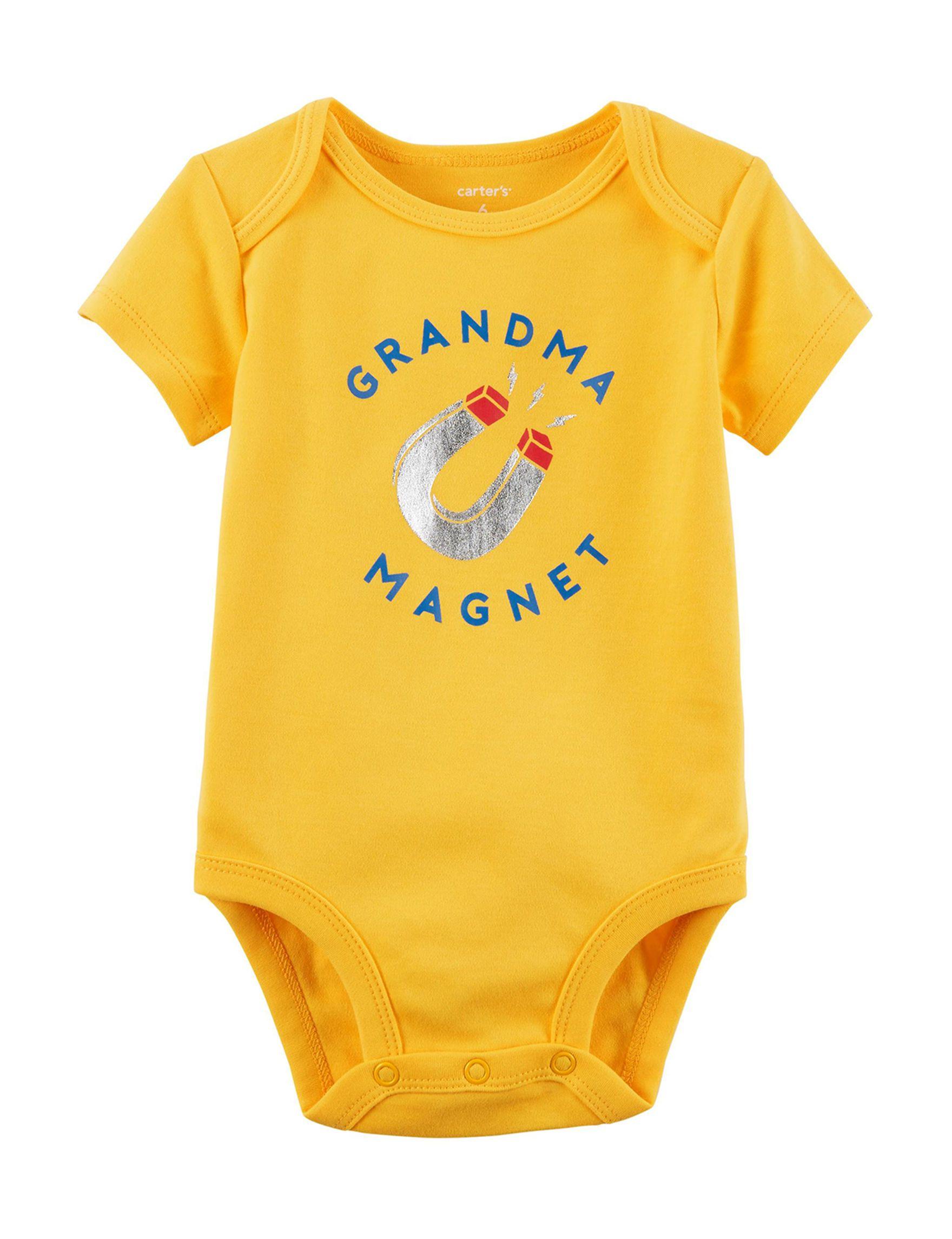 "Carter s ""Grandma Magnet"" Bodysuit Baby 0 9 Mos"