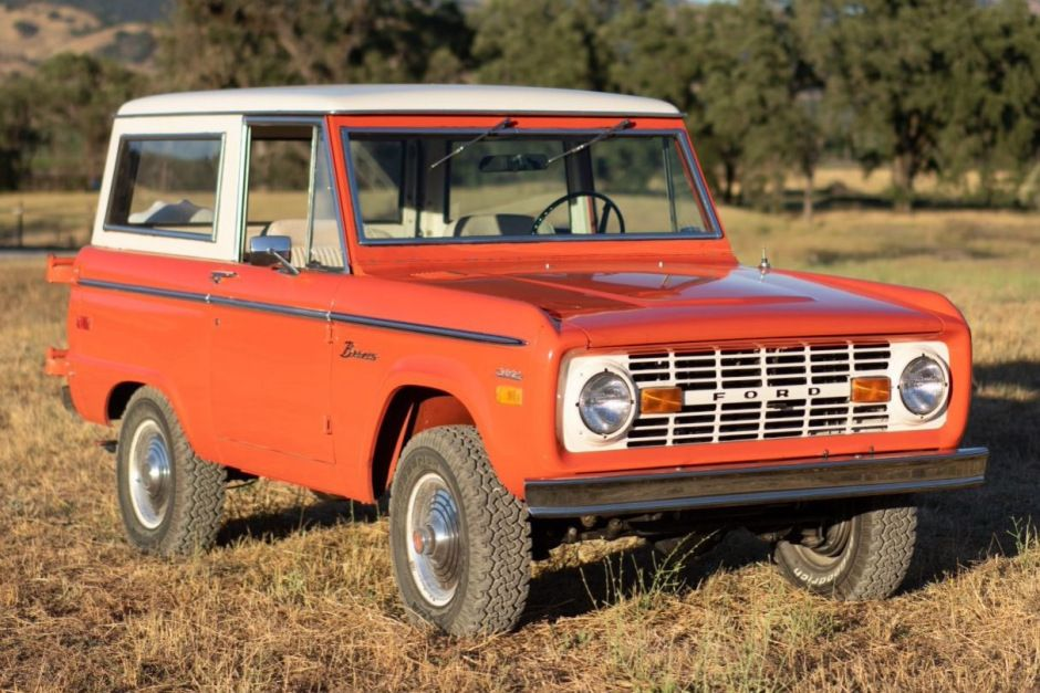 1971 Ford Bronco in 2020 Ford bronco, Datsun roadster
