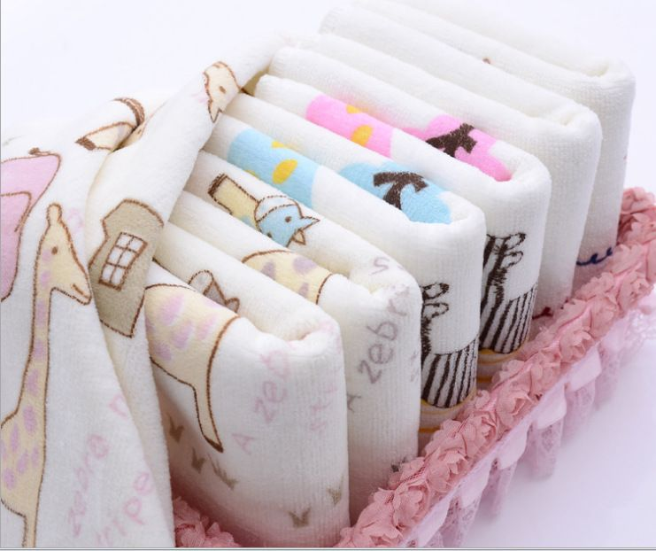 Children Washcloth Baby Feeding Baby Face Towels Washers Hand Cute Cartoon Wipe Wash Cloth Cotton In Towels From Mot Washing Clothes Baby Washcloth Towels Kids
