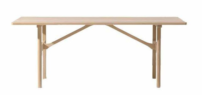 Esstisch / Skandinavisches Design / Aus Eiche / Aus Massivholz 6284 By  Børge Mogensen Fredericia Furniture