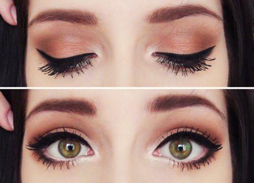 Image via We Heart It https://weheartit.com/entry/159924580 #brown #browneyes #eyes #eyeshadow #gorgeous #greeneyes #hipster #makeup #tumblr #tumblrgirl
