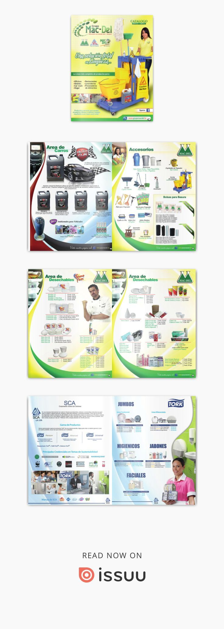 Catálogo de productos Grupo Macdel