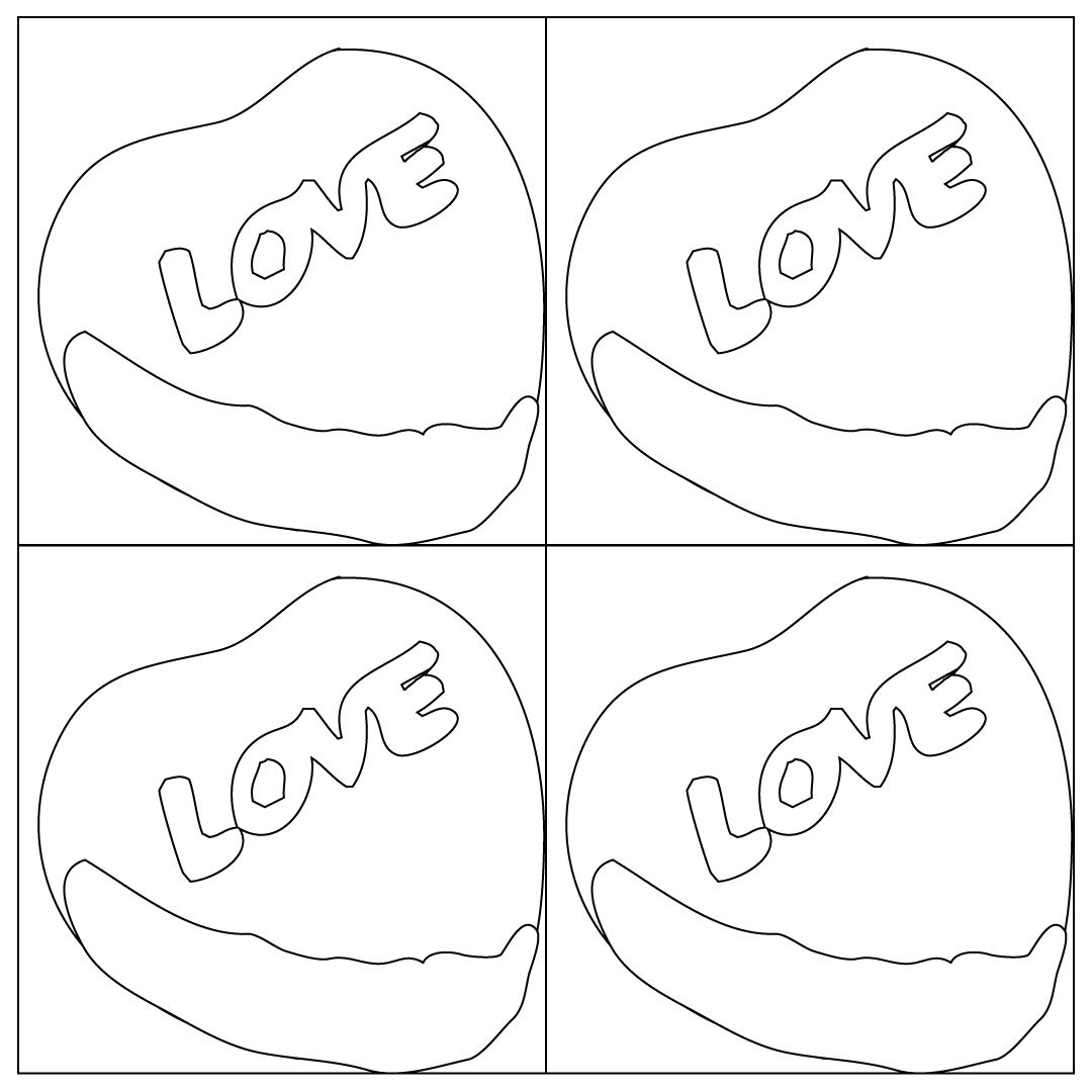 Pop Art Candy Heart Coloring Babadoodle Free Coloring Pages