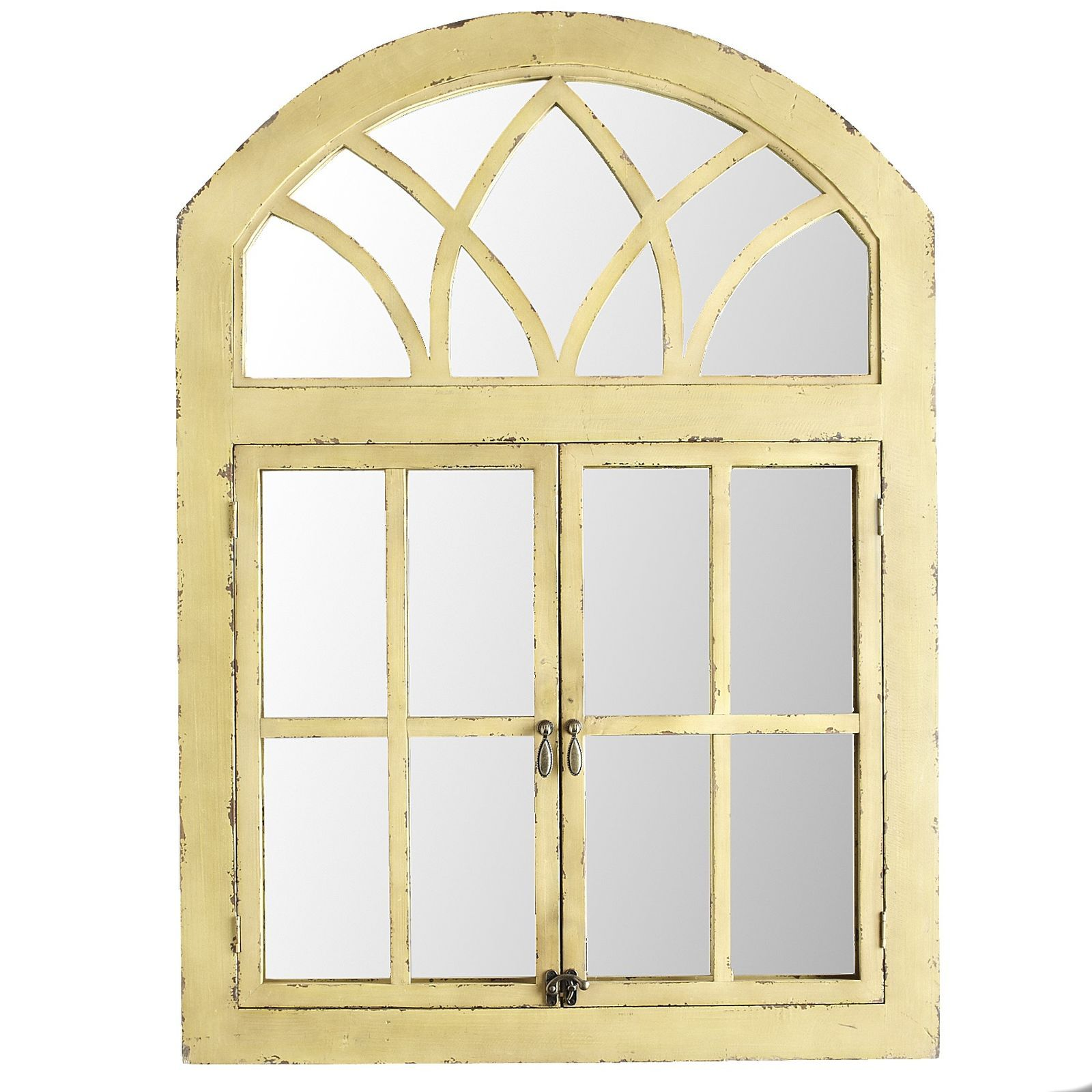 Pier 1 Imports Yellow Garden Window Mirror | Eclectic modern, Garden ...