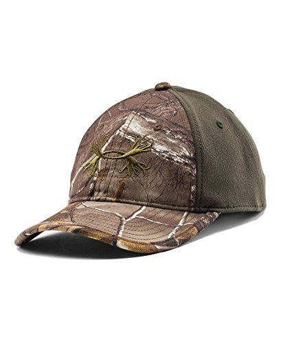 cbed6d68b5b Under Armour Men s UA Camo Antler 2-Tone Cap One Size Fits All REALTREE AP- XTRA