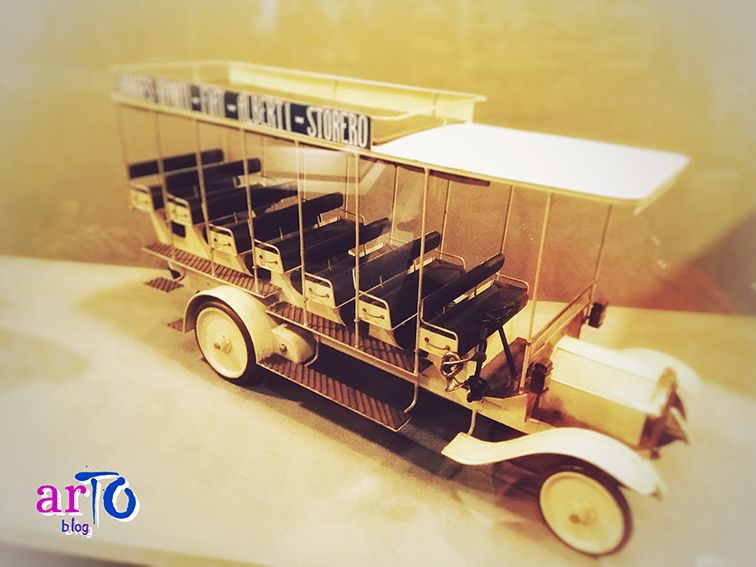 Mostra Missione Egitto 1903-1920. Modellino FIAT #museoegizio #torino