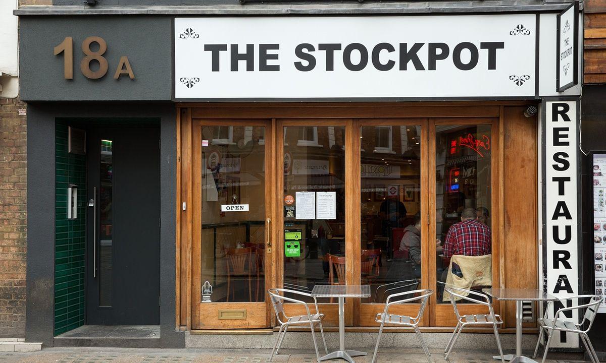 Vintage teestube goodbye to the stockpot u the last great soho cheap eatery  muriel