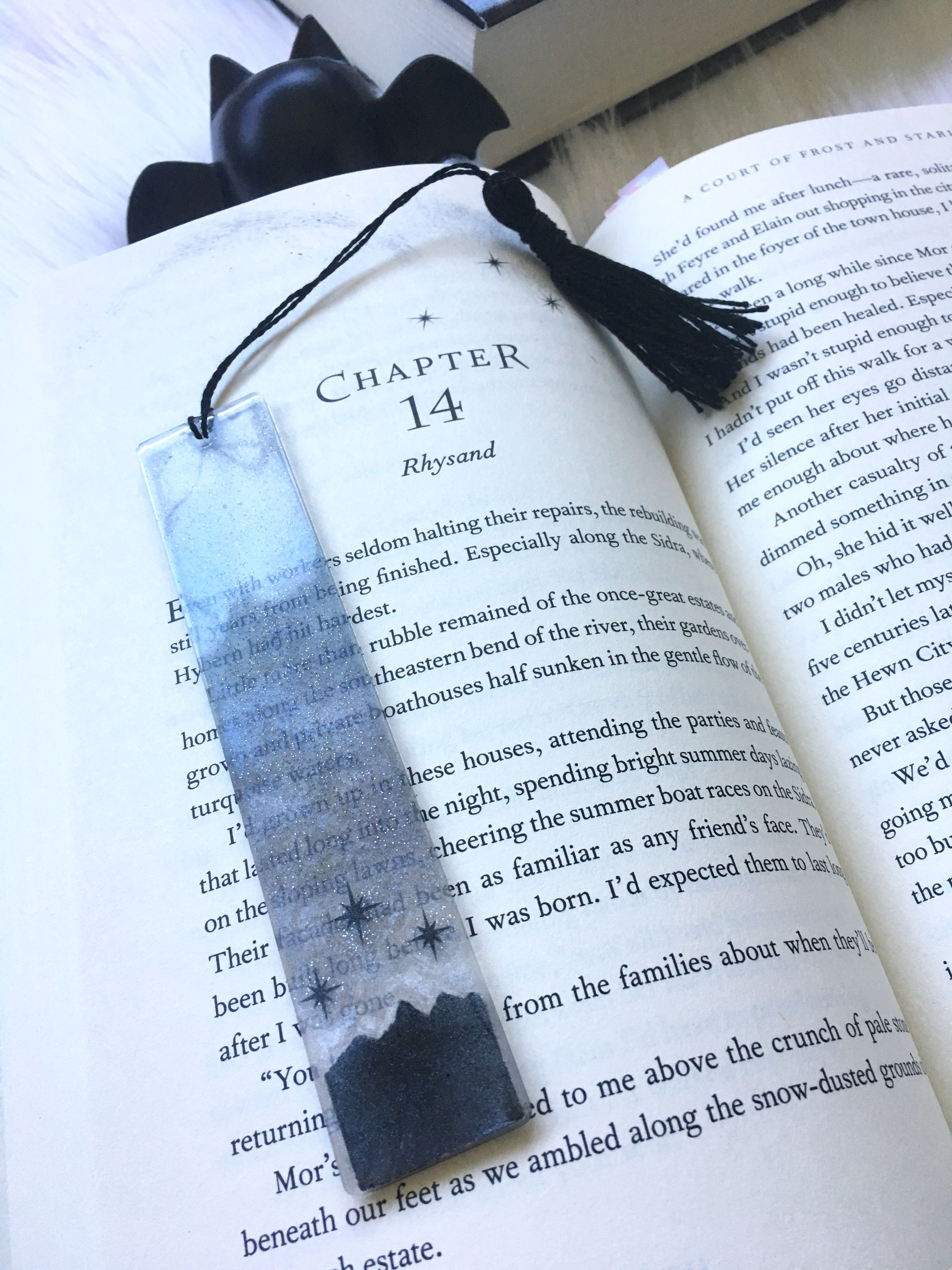 A Court Of Thorns And Roses Inspired Bookmark I Made Acotar