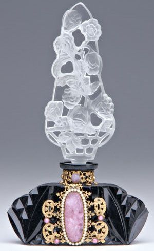 Perfume Fragrance Bottle Irice Black