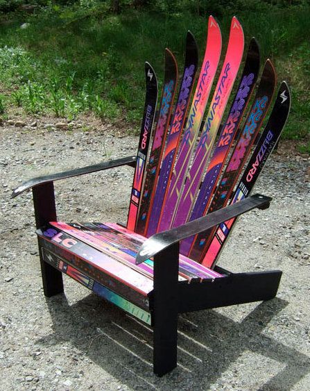 Adirondack Ski Chair by Anne Rast D I Y Pinterest – Adirondack Ski Chairs