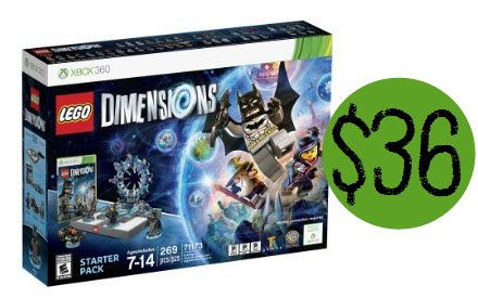 Lego Dimensions Xbox 360 Starter Pack $36.11 (Was $100) **Best ...