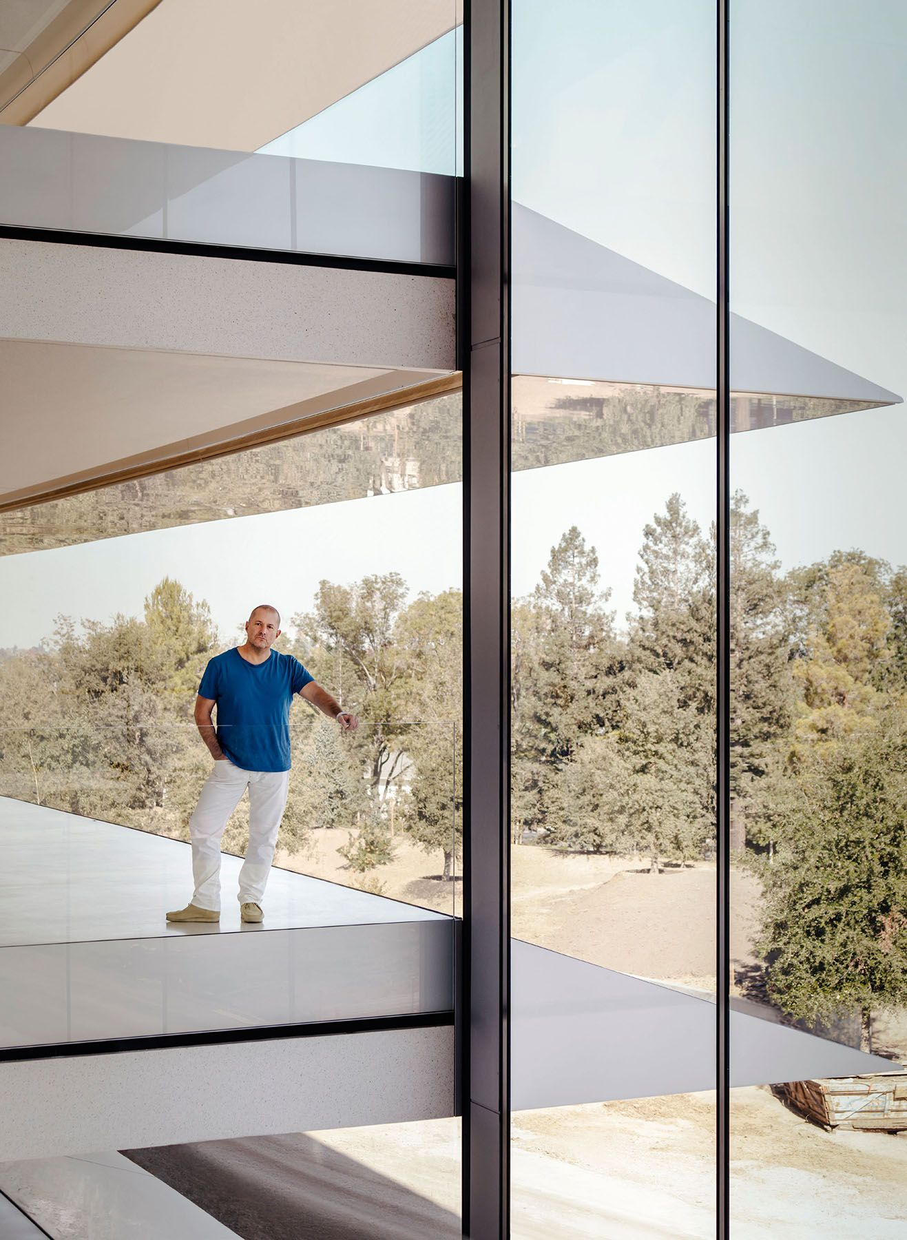 In the loop Jony Ive on Apple Park and the iPhone X
