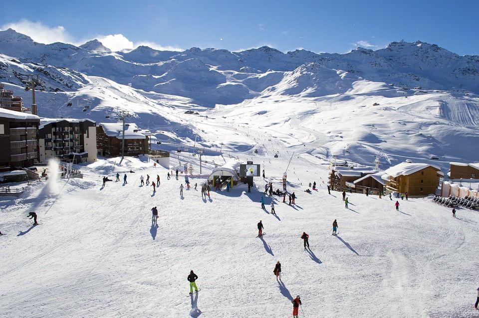 De skigebieden in de Alpen behoren tot de populairste van de wereld.