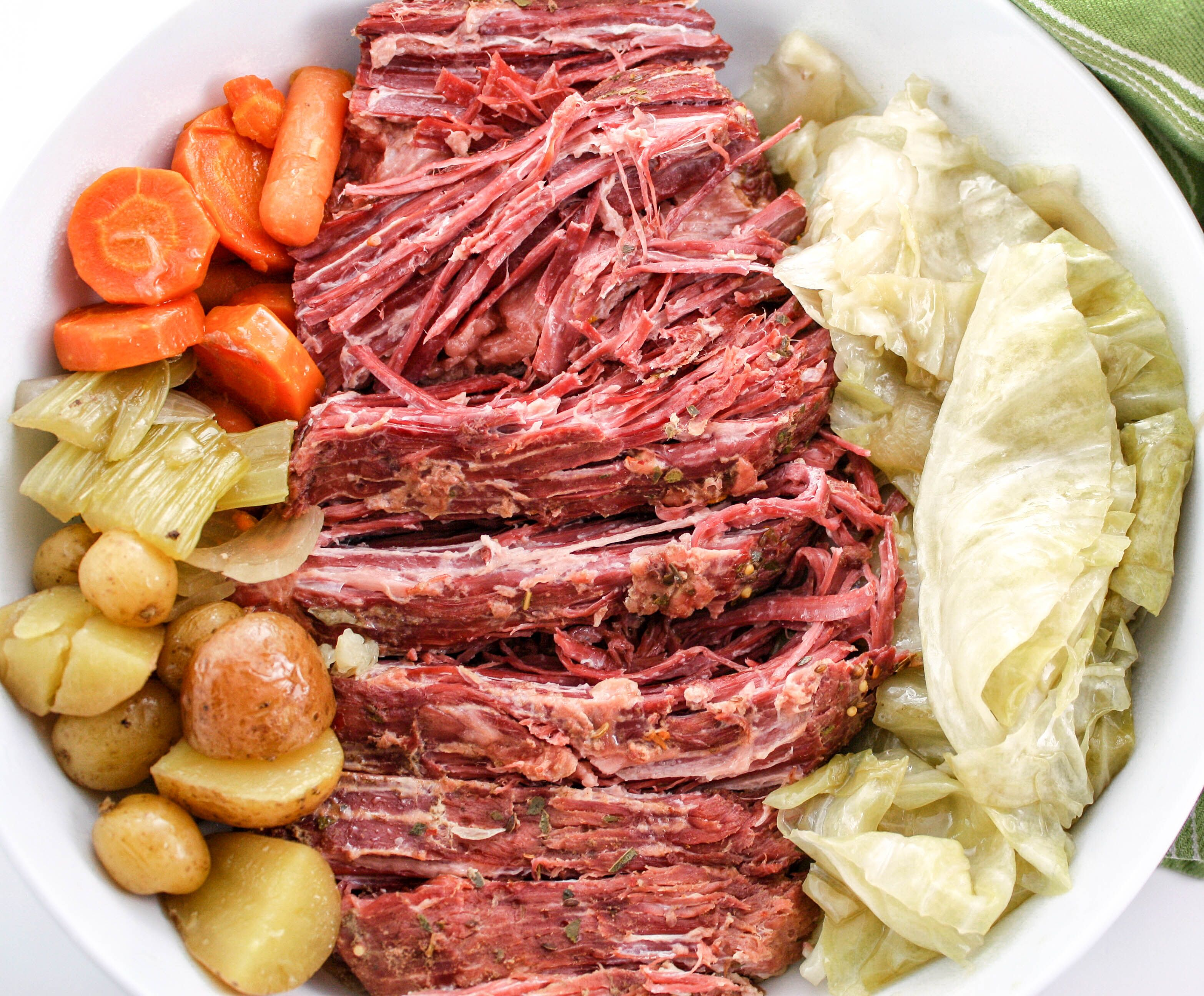 Sharing Is Caring 14735shares Facebook Twitter Pinterest14735 Slow Cooker Corned Beef And Ca In 2020 Slow Cooker Corned Beef Corn Beef And Cabbage Cooking Corned Beef
