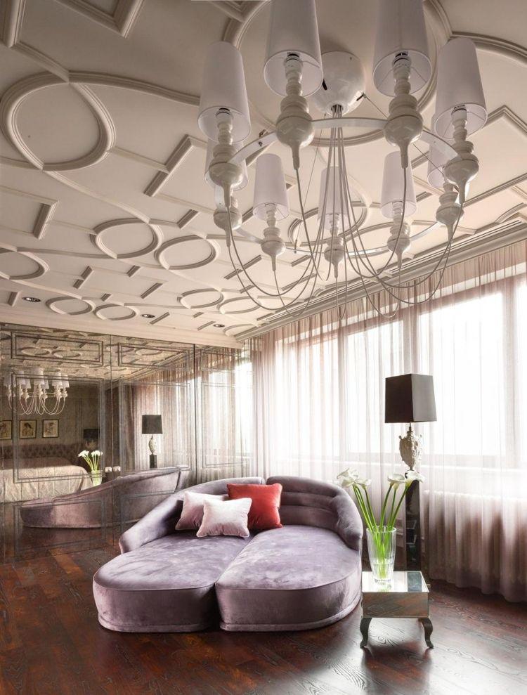 stuckdecke und verspiegelnde barock wandgestaltung ideen rund ums haus pinterest barock. Black Bedroom Furniture Sets. Home Design Ideas