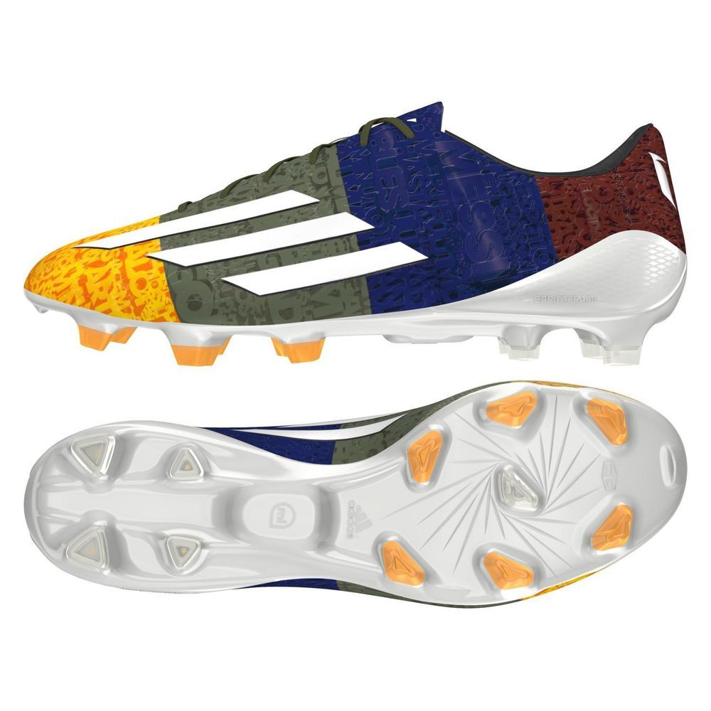 ADIDAS Men's F50 adizero FG Messi Soccer Cleat shoes ALL SIZES M21777  **RARE*