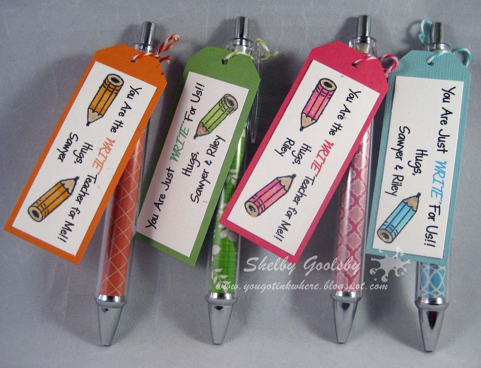 Cute simple teacher gift blow off some steam and get for Simple gifts to make