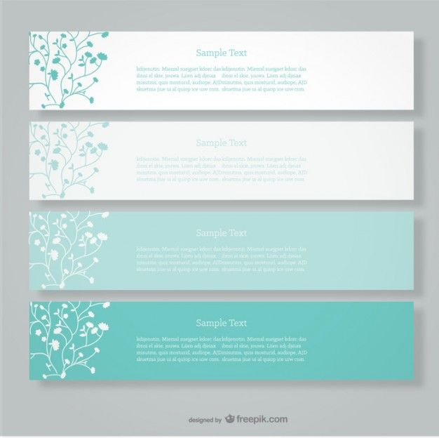 Floral vector banners minimalist design down pinterest floral vector banners minimalist design stopboris Images