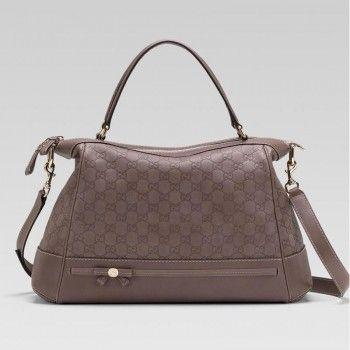 ebf6333367904 Gucci 257349 AA61G 5403 Mayfair Large Top Griff Tasche mit Schleife Und  Gucci Damen Handtaschen