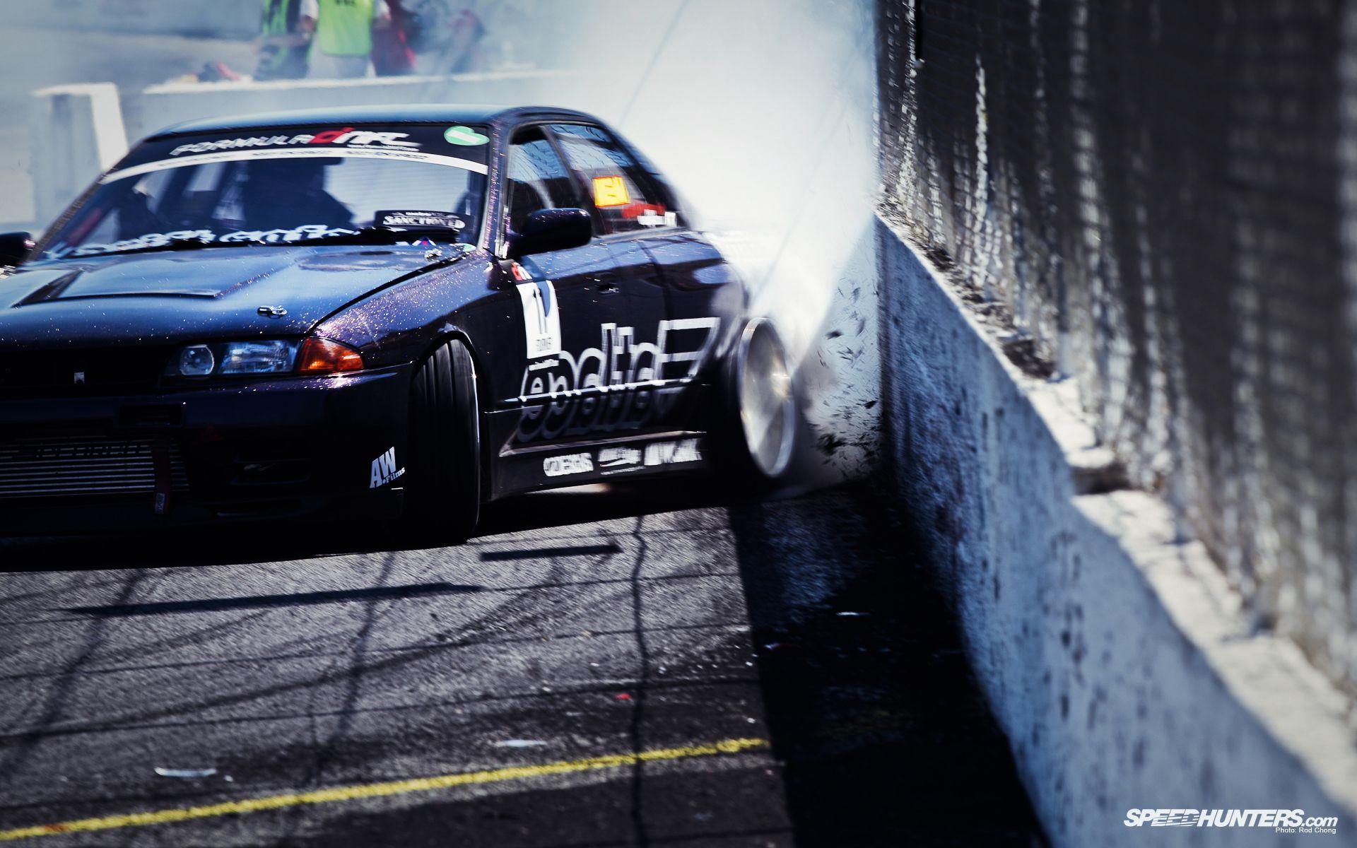 Fatlace R32 scrapin the wall | Drifting cars, Drifting ...