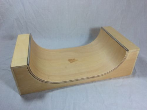 50 Rare Tech Deck Wooden Half Pipe Spin Master Skateboard
