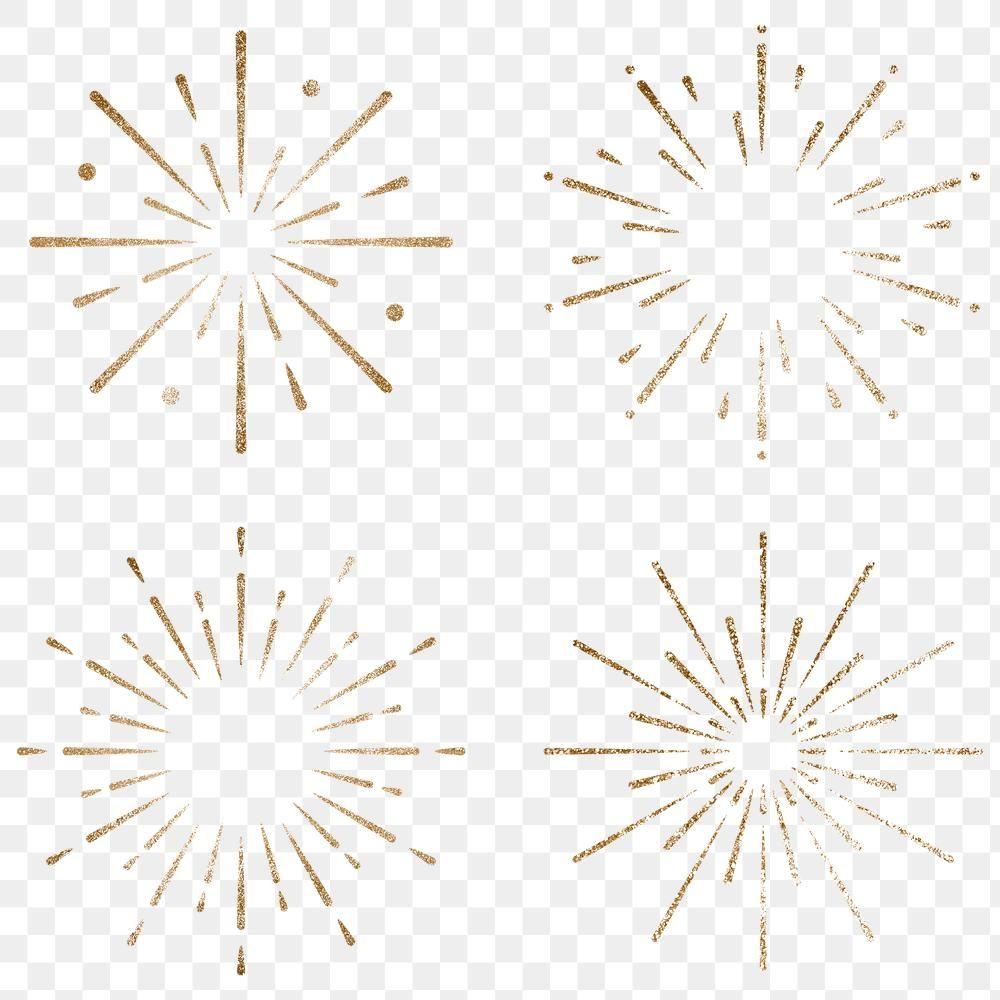 New Year Firework Sticker Transparent Png Set Premium Image By Rawpixel Com Adj Fireworks Design New Year Fireworks Transparent Stickers