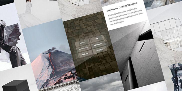 Cool Hover Effect Tumblr Theme | TUMBLR | Zen, Tumblr, Mood
