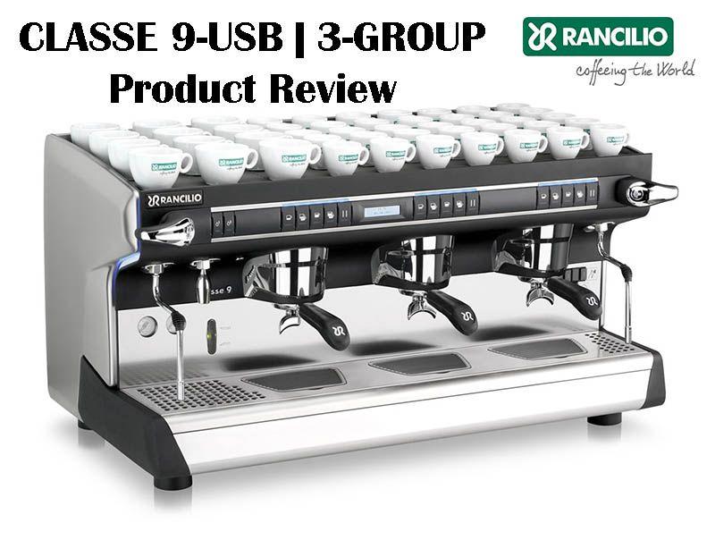 Rancilio Classe 9 Usb Fully Automatic Commercial Espresso