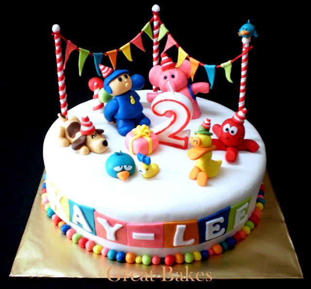 Pocoyo Birthday Party Ideas Google Search Pocoyo Pinterest