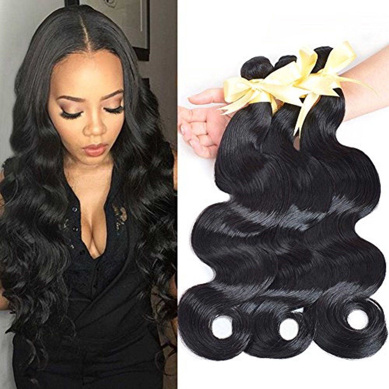 Lin Hair Peruvian Virgin Human Hair Weave Bundles Body Wave Weft