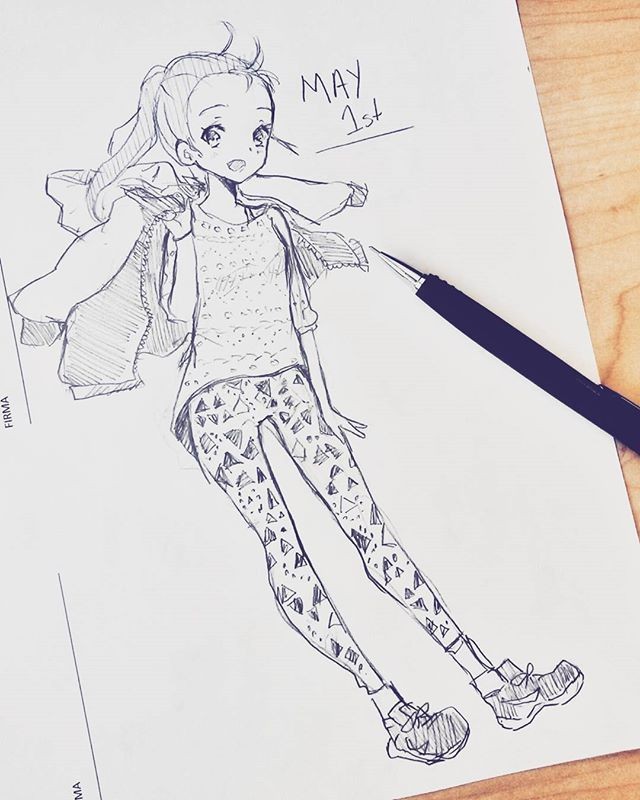 Trying to beat artblock drawing! Quick outfit of the day  ! Wich is your…